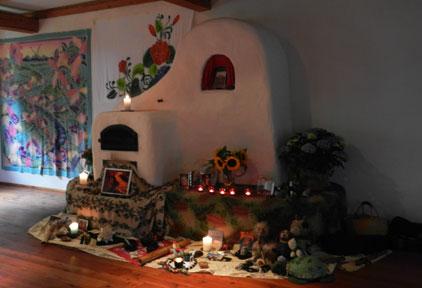 Altar bei Lomi Intensiv Training
